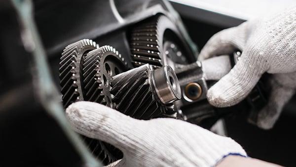 Gearbox overhaul